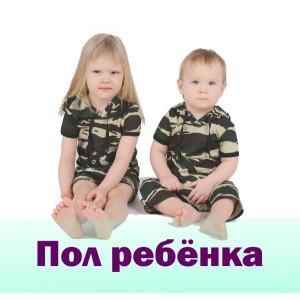 Пол ребенка