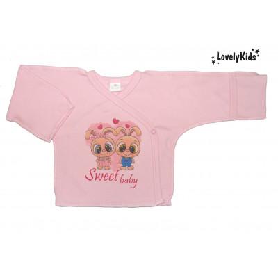 Распашонка Sweet baby розовый