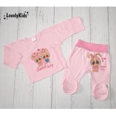 Ползунки Sweet baby розовый